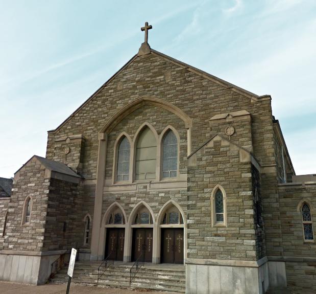 Nha Tho Viet Nam tai Philadelphia - Divine Mercy Parish Church